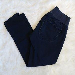 Women's Gap Dark Wash Maternity Jeans